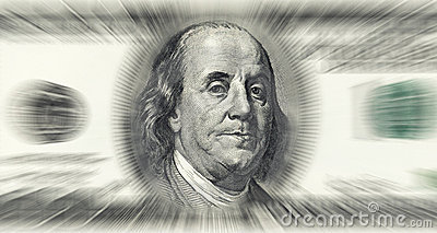 Dollar money concept