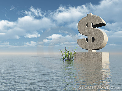Dollar monument