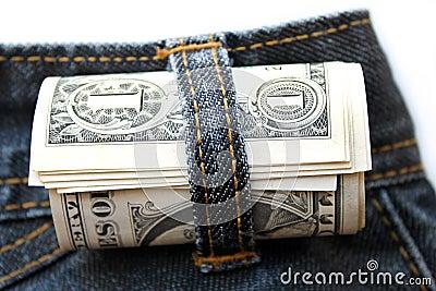Dollar rolled