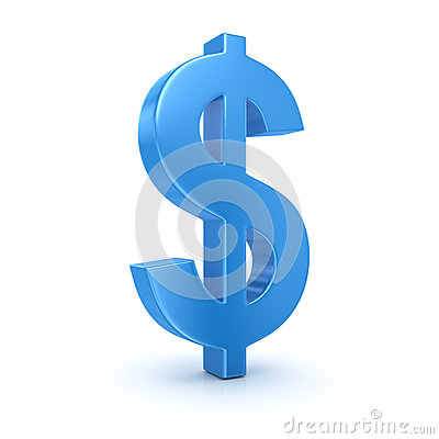 Free Dollar Sign Stock Image - 41669301