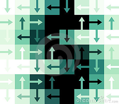 Dollar sign abstract background