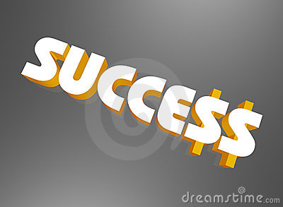 Dollar signs in word success