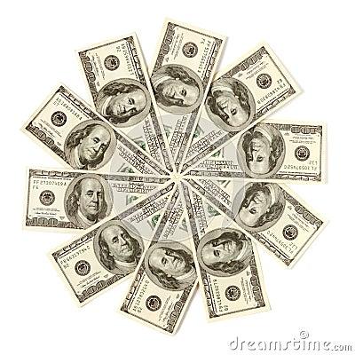 Dollar Snowflake