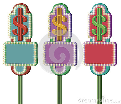 Dollar Symbol Signs