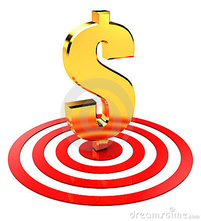 Dollar in target
