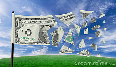 Dollar tearing apart