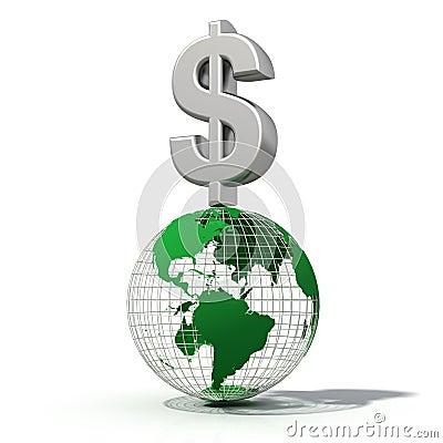 Dollar at the top
