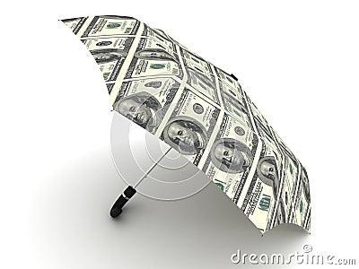 Dollar umbrella