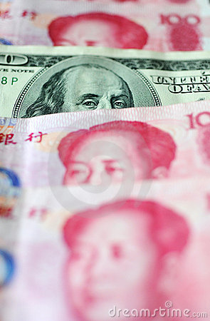 Dollar US et yuan chinois
