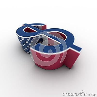 Dollar USA - horizontal