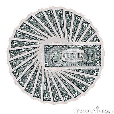 Dollar wheel