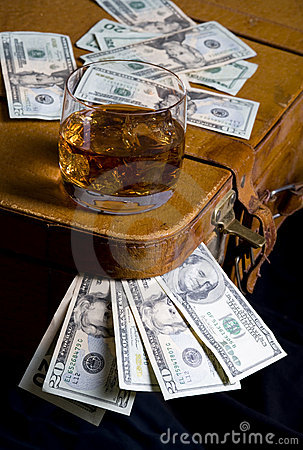 Dollar and whisky