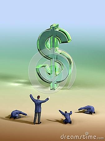 Dollar worship