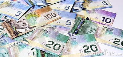 Dollari canadesi dei soldi