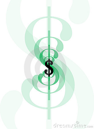 Dollaro sign-line1
