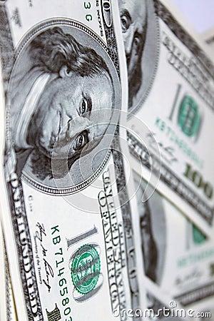 Dollars 100 banknotes front