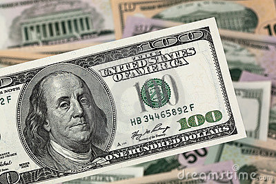 Dollars. American Bank Notes Stock Images - Image: 18787654