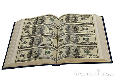 Dollars in book