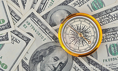 Dollars and compass