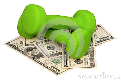 Dollars and dumbbells