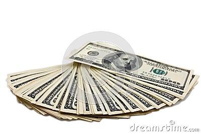 Dollars fan