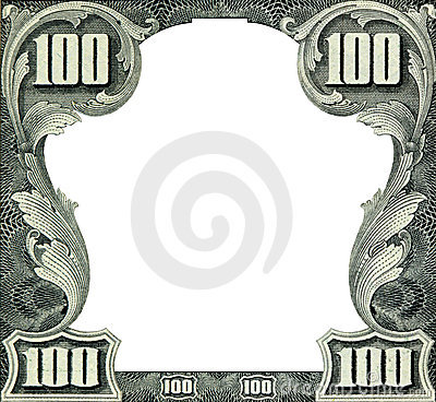 Free Dollars Frame Royalty Free Stock Photo - 6984865