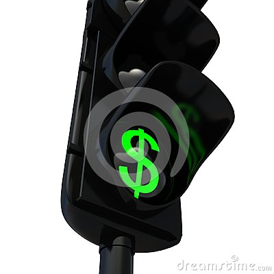 Dollars Green Light