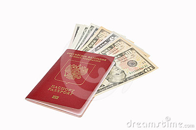 Dollars in the international passport
