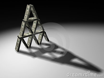 Dollars piramid