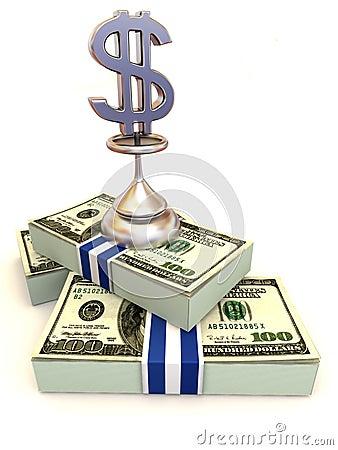 Free Dollars. Sign Stock Image - 4806191