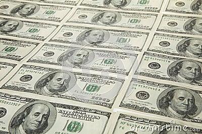 Dollars US dans cru