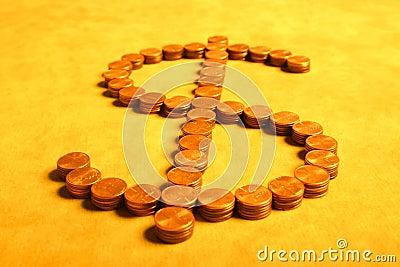 Dollars van centen