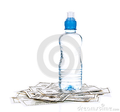 Dollars and water