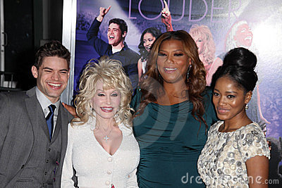 Dolly Parton, Jeremy Jordan, Keke Palmer, Latifah, Queen, Queen Latifah Editorial Photo