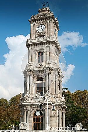 Dolmabahçe Palace Clock Tower