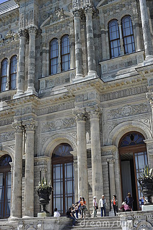 Dolmabahce Palace, Istanbul Editorial Image