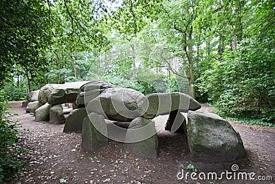 Dolmen grave