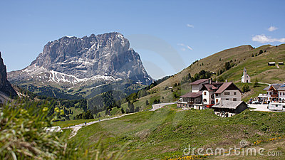 In the Dolomite Alps