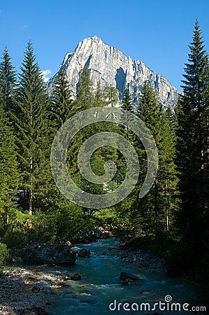 In the Dolomite Alps