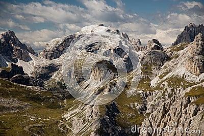 Dolomite alps, Sexten, Italy.