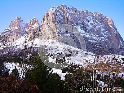 Dolomite Mountain