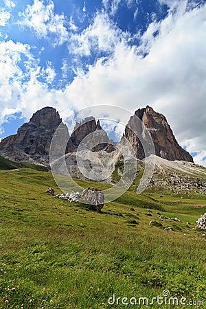 Dolomites - Langkofel mountain