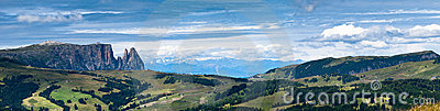 Dolomites panorama, Italy