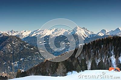 Dolomites range