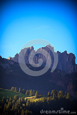 Dolomiti mountains in Italy
