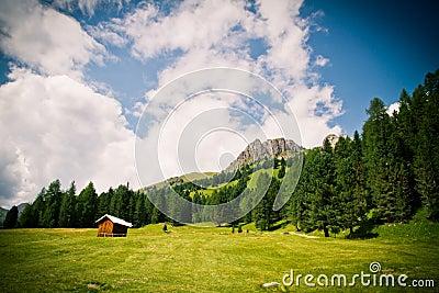 Dolomiti mountains in Italy
