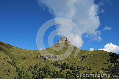 Dolomiti mountains in Italy. panorama