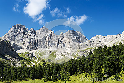 Dolomiti mountains panorama