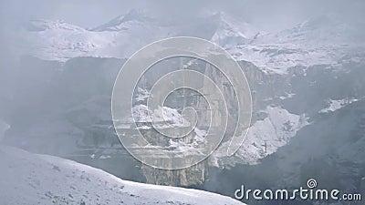 Dolomits dans le brouillard clips vidéos