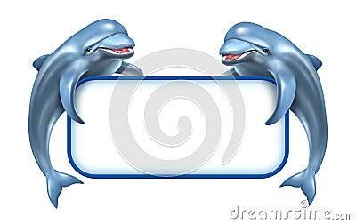 Dolphin Marine Sign